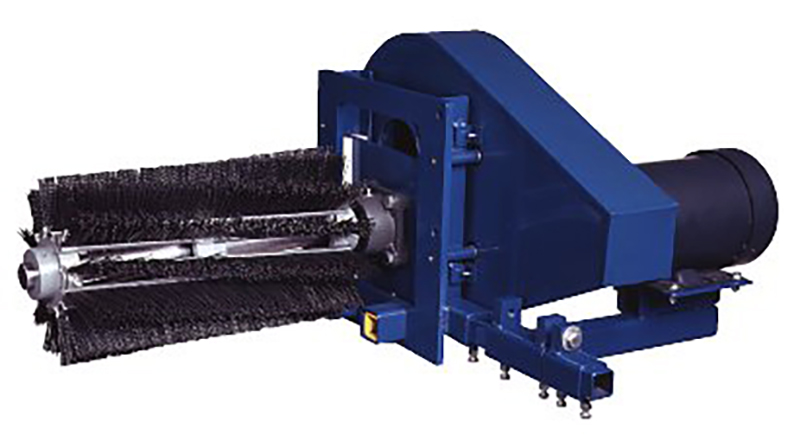Cantilever Rotary Brush Cleaner Conveyor Components Company