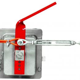 Safety Stop Control with Cable Break Detection